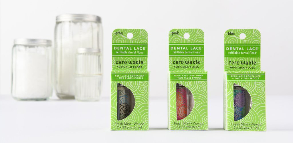 Dental Lace Refillable Dental Floss